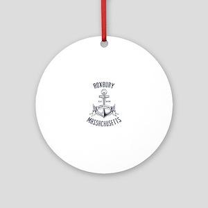Roxbury, Boston MA Ornament (Round)