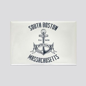 South Boston, MA Rectangle Magnet