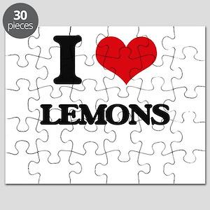 I Love Lemons Puzzle