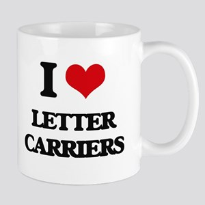 I Love Letter Carriers Mugs