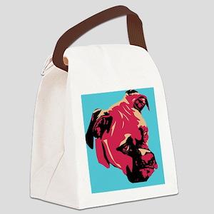Warhol Boxer Canvas Lunch Bag