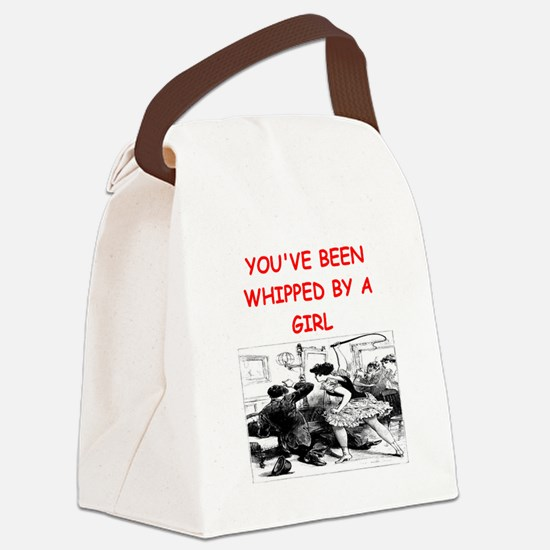 whipped Canvas Lunch Bag