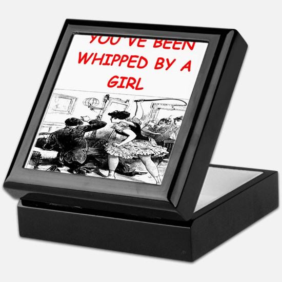 whipped Keepsake Box