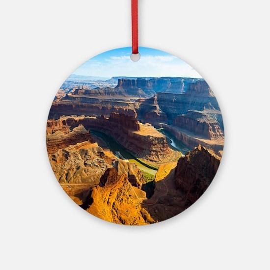 Beautiful Grand Canyon Ornament (Round)