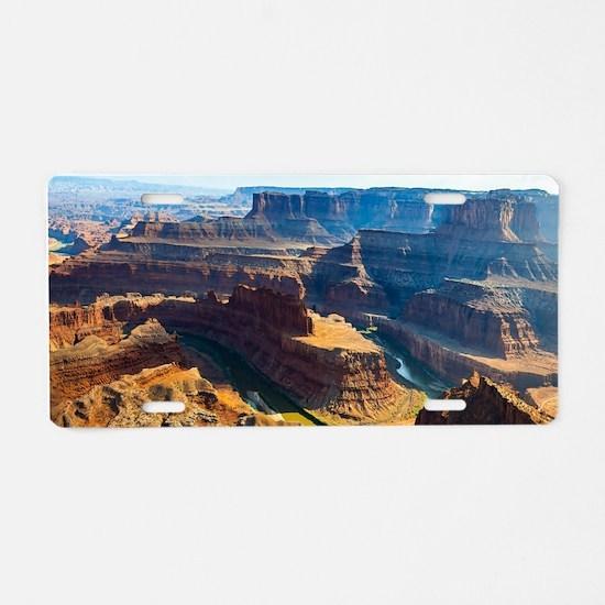 Beautiful Grand Canyon Aluminum License Plate