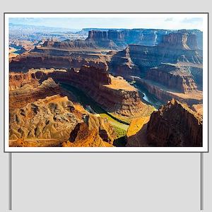 Beautiful Grand Canyon Yard Sign