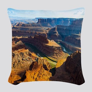 Beautiful Grand Canyon Woven Throw Pillow