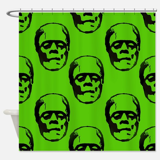 Unique Frankenstein Shower Curtain