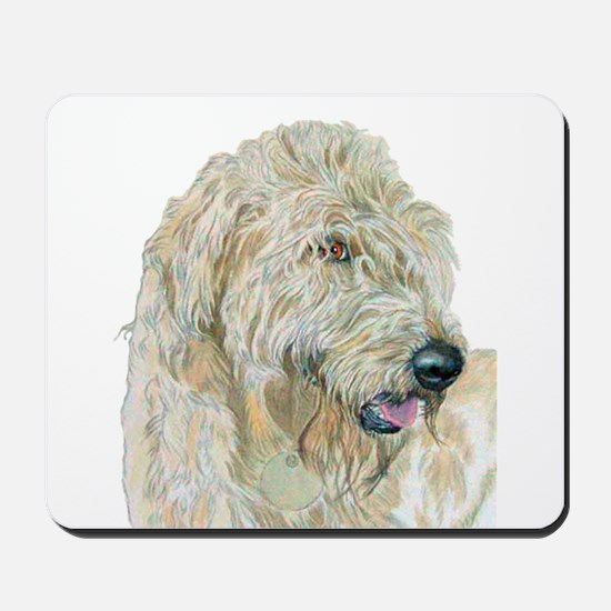 Cream Labradoodle Mousepad