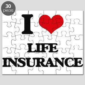 I Love Life Insurance Puzzle
