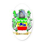 Heffernan Oval Car Magnet