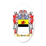 Heeny Oval Car Magnet