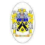 Heenan Sticker (Oval)