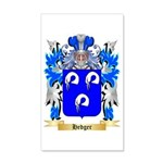 Hedger 35x21 Wall Decal