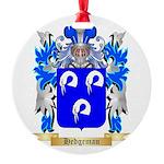 Hedgeman Round Ornament