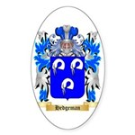 Hedgeman Sticker (Oval 10 pk)