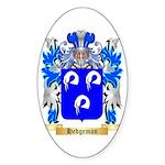 Hedgeman Sticker (Oval 50 pk)
