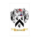 Heddon Sticker (Rectangle 50 pk)