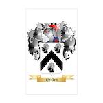 Hedden Sticker (Rectangle 50 pk)