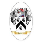 Hedden Sticker (Oval 50 pk)
