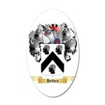 Hedden 35x21 Oval Wall Decal
