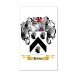 Hedden 20x12 Wall Decal