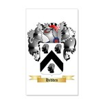 Hedden 35x21 Wall Decal