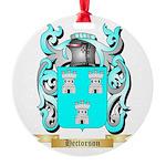 Hectorson Round Ornament