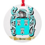 Hector Round Ornament