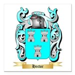 Hector Square Car Magnet 3