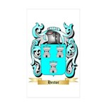 Hector Sticker (Rectangle 50 pk)