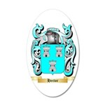 Hector 20x12 Oval Wall Decal