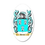 Hector 35x21 Oval Wall Decal