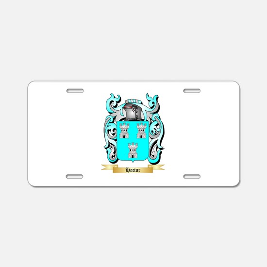 Hector Aluminum License Plate