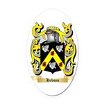 Hebson Oval Car Magnet