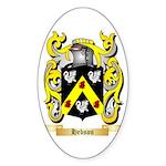 Hebson Sticker (Oval)