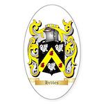Hebbes Sticker (Oval)