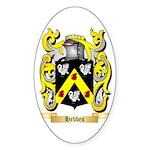 Hebbes Sticker (Oval 50 pk)