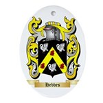 Hebbes Ornament (Oval)