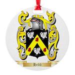 Hebb Round Ornament