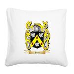 Hebb Square Canvas Pillow