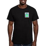 Heb Men's Fitted T-Shirt (dark)