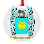 Heb Round Ornament