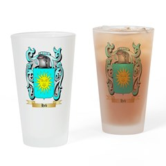 Heb Drinking Glass