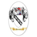 Heaton Sticker (Oval 50 pk)