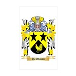 Heathman Sticker (Rectangle 50 pk)