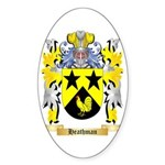 Heathman Sticker (Oval 50 pk)