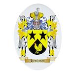 Heathman Ornament (Oval)