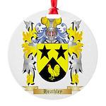 Heathley Round Ornament