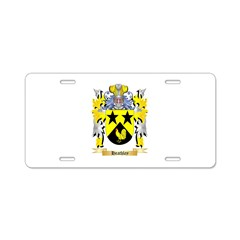 Heathley Aluminum License Plate